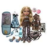 Bratz Nighty-Nite Collection - Cloe Doll with Collectible Overnight Bag & Pillow and Exclusive Perfume