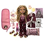 Bratz Nighty-Nite Collection - Yasmin Doll with Collectible Overnight Bag & Pillow and Exclusive Perfume