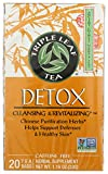 Product Image of Triple Leaf Tea, Detox, 20 Tea Bags, 1.4 oz (40 g)