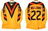1982-83 Vancouver Canucks Home Gold #22 Tiger Williams Throwback Jersey... by Mitchell & Ness