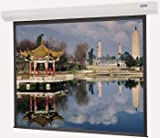 Da-Lite 60 x 60 Square Format Office Electric Wall Screen with High Power Fabric