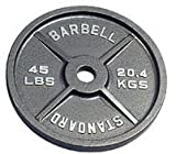 400 Lb Olympic Weight Set, Gray Plates, 7 ft Chrome Bar and Spring... by Troy Barbell