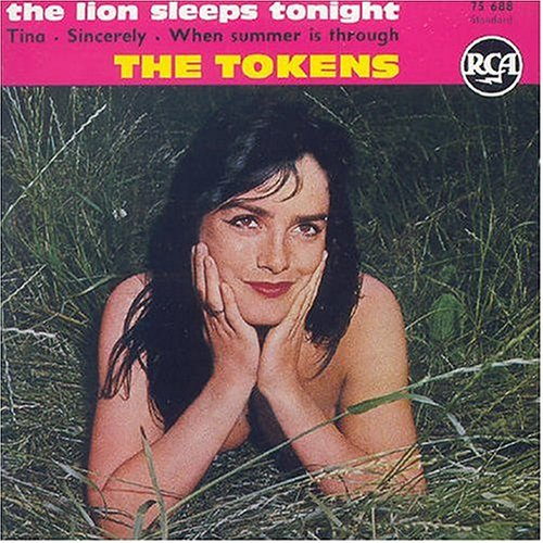 Original album cover of Lion Sleeps Tonight by The Tokens