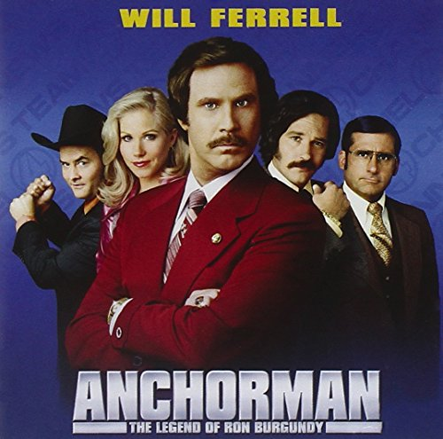 Original album cover of Anchorman: The Legend of Ron Burgundy by Various Artists