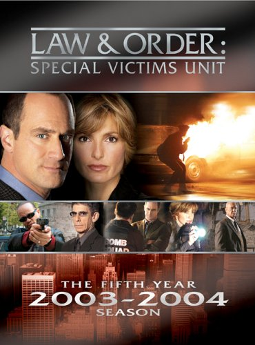 Law & Order Special Victims Unit - The Fifth Year  DVD