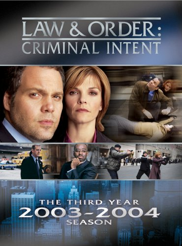 Law & Order Criminal Intent - The Third Year DVD