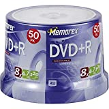 Memorex 4.7GB 8x DVD+R (50-Pack Spindle)