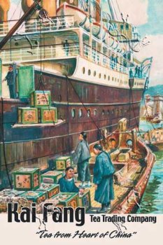 Kai Fang Tea Trading Company: Tea from the Heart of China, Art Poster