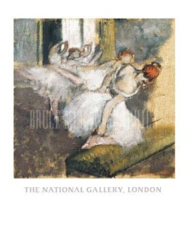 Ballet Dancers, Art Poster by 