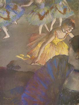 Ballerina and Lady with Fan, Art 