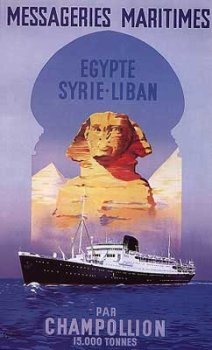 Egypte Syrie-Liban, Art Poster by Guena