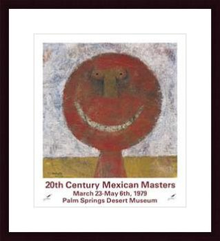 20th Century Mexican Masters, Framed Art Print by Rufino Tamayo