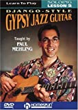 Learn To Play Django-Style Gypsy Jazz Guitar #2 - movie DVD cover picture