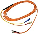 Cables to Go - Mode conditioning cable - SC multi-mode (M) - ST multi-mode, ST single mode (M) - 16.4 ft - fiber optic - 62.5 / 125 micron - orange