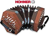 Free Reed Instrument Hohner D40 Concertina