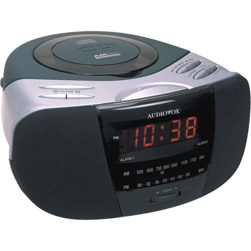electronics online store products clocks clock radios cd cassette clock radios. Black Bedroom Furniture Sets. Home Design Ideas