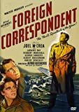 Foreign Correspondent - movie DVD cover picture