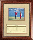 Tom Kite Framed 8x10 Autographed Photograph with Scorecard by Pro Tour Memorabilia