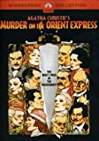 Murder on the Orient Express - movie DVD cover picture