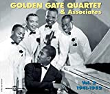 Carátula de The Golden Gate Quartet & Associates, Vol. 2 (1941-1952)