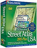 Delorme Mapping Street Atlas USA 2005 Plus