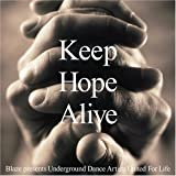 Cubierta del álbum de Keep Hope Alive: Lifebeat Benefit Compilation