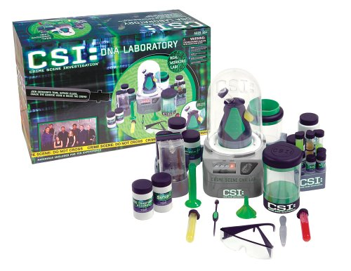 CSI: DNA Laboratory  by Planet Toys