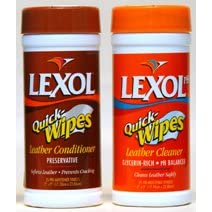 Lexol Leather Cleaner and Conditioner Quick Wipes
