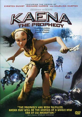 Kaena - The Prophecy DVD