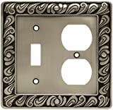 Paisley Single Switch/Duplex Wall Plate