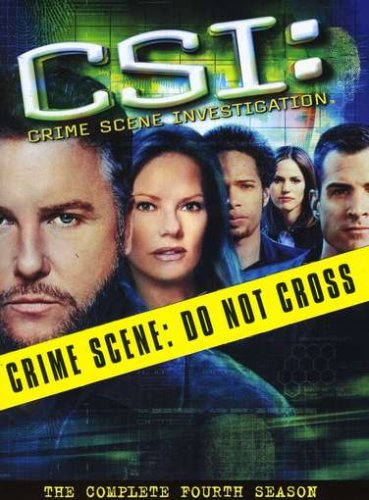 C.S.I. Crime Scene Investigation - The Complete Fourth Season DVD
