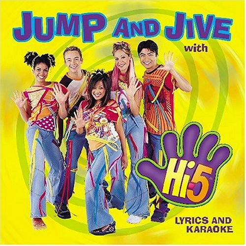 Original album cover of Jump and Jive With Hi-5 by Hi-5