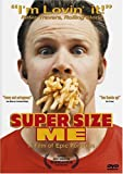 Super Size Me - movie DVD cover picture