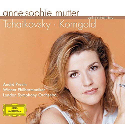 Violinist Ann-Sophie Mutter plays Tchaikovsky