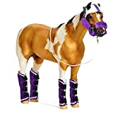 Breyer Horses Authentic Shipping Set - Halter, Head Bumper & Boots for Traditional Scale Horses