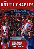 Arsenal Season Review 2003/2004: The Untouchables - movie DVD cover picture