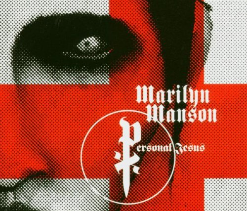 CD-Cover: Marilyn Manson - Personal Jesus [4trx] Enhanced [MAXI-CD]