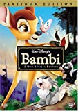Bambi (Disney Special Platinum Edition) - movie DVD cover picture