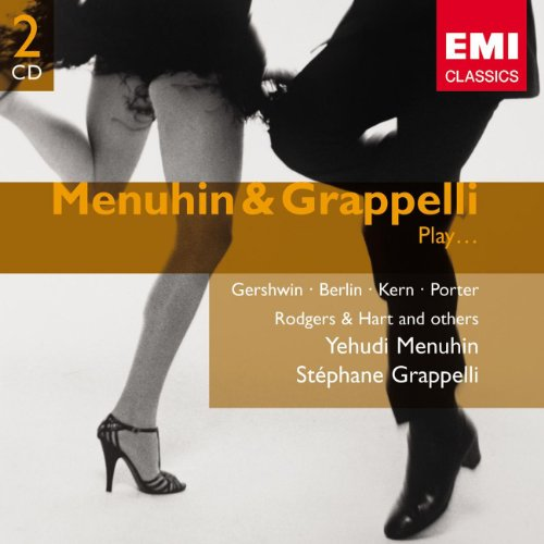 Violinists Menuhin and Grappelli