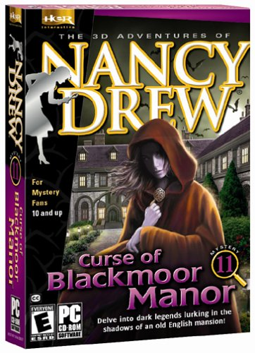 Nancy Drew: Curse   of Blackmoor Manor by Her Interactive (CD-ROM)