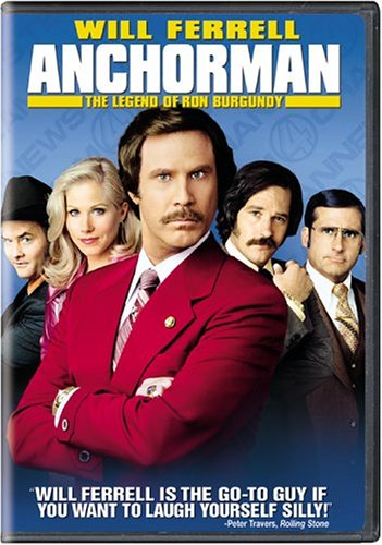 Anchorman - The Legend Of Ron Burgundy  DVD