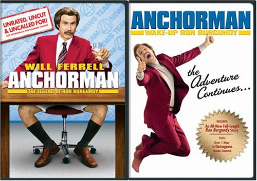 Anchorman - The Legend of Ron Burgundy Giftset  DVD