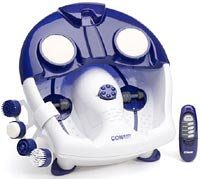 bubble bliss deluxe foot spa with heat instructions