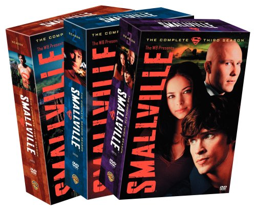 Smallville - The Complete Seasons 1-3 DVD