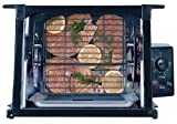 Factory-Reconditioned Ronco Inventions 3000TBFS Showtime Indoor Compact Rotisserie and BBQ, Black