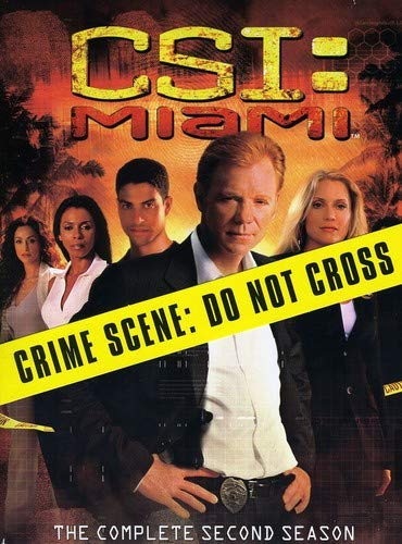 C.S.I. Miami - The Complete Second Season DVD