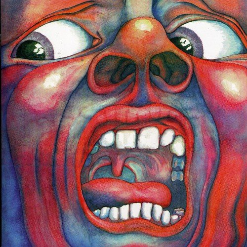 Original album cover of In the Court of the Crimson King by King Crimson