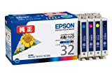 EPSON IC4CL32 (インク4色セット)