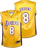 Kobe Bryant Los Angeles Lakers Replica Gold Youth NBA Jersey by Reebok
