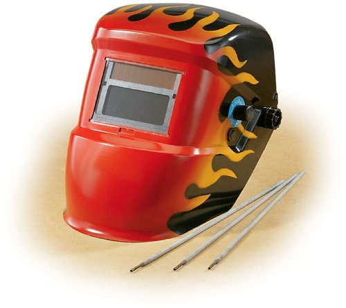 Redtail� Flame Welding Helmet with Auto-darkening Lens.